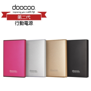 doocoo isimple 10000mAh 鋁合金行動電源 HW-PB-030 3.1A雙輸出 鋰聚合物電芯