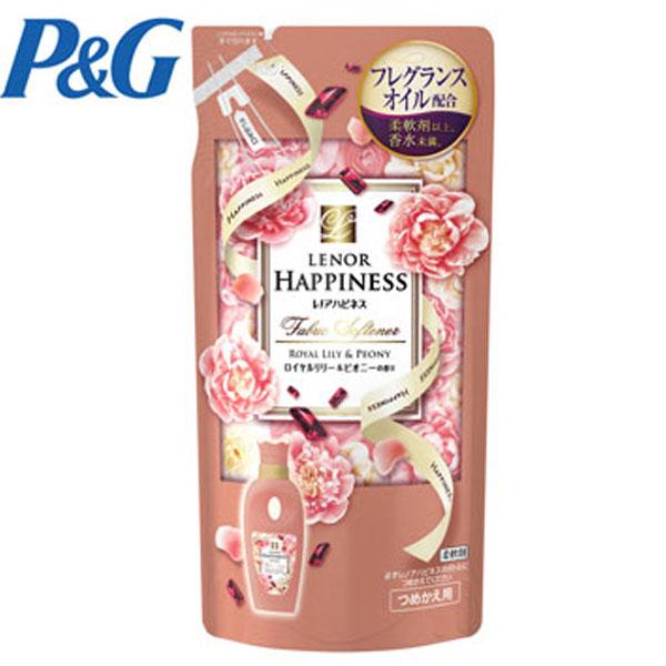 【日本P&G】粉紅牡丹柔軟精 補充包-480ml (配合芳香粒可產生更多香氣) 柔軟劑以上,香水未滿的秘密 綾瀨遙代言