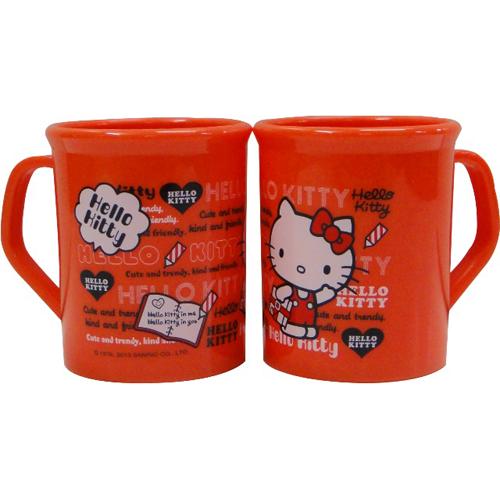 Hello Kitty PP水杯 300c.c(紅)