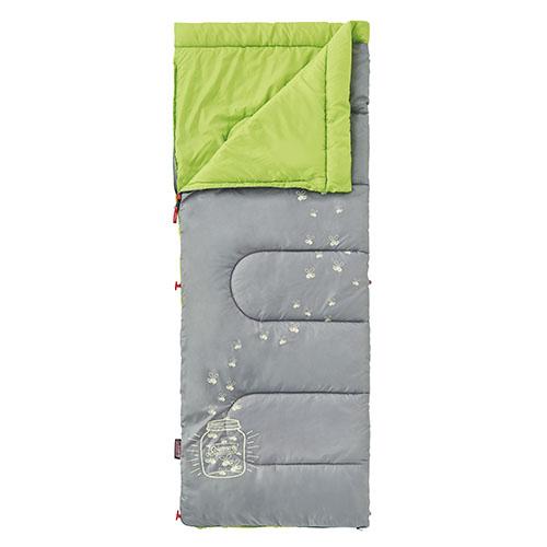 Coleman 夜光型萊姆綠兒童睡袋/C7 纖維睡袋 中空纖維 CM-22259