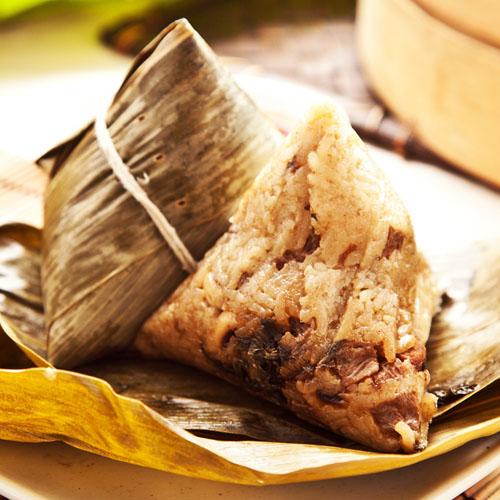 【樂活e棧】頂級素食滿漢全席粽子(6顆/包 ,共2包)