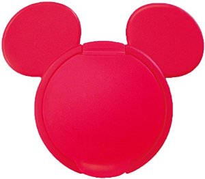 日本 Disney 重複黏濕紙巾用盒蓋【紅色米奇】*夏日微風*