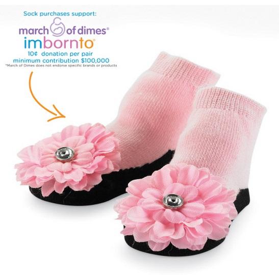 【HELLA 媽咪寶貝】美國 Mud Pie 時尚造型棉襪/止滑襪/假鞋襪/嬰兒襪 寶寶花蕾造型(MPSG1-10)