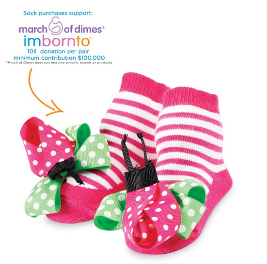 【HELLA 媽咪寶貝】美國 Mud Pie 時尚造型棉襪/止滑襪/假鞋襪/嬰兒襪 瓢蟲造型(MPSG1-05)