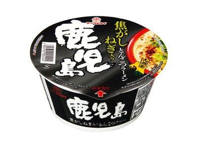[日本九州風味拉麵]丸太鹿兒島焦香蔥豚骨碗麵 81g