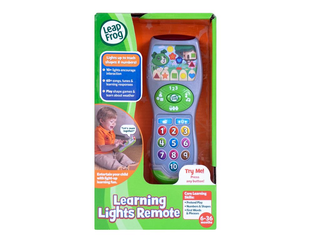 【淘氣寶寶】美國 LeapFrog 跳跳蛙-學習遙控器【全英語益智教育玩具】【公司貨】