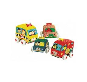 【淘氣寶寶】奇智奇思 K's Kids Pull-Back Autos 趣味迴力車組【保證公司貨●品質有保證●非水貨】