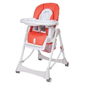 【淘氣??】台灣製 Britax - Steelcraft Messina DLX 高低可調多功能餐椅(紅色)