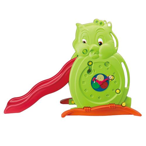 【淘氣寶寶】【CHING-CHING親親】貓頭鷹溜滑梯(長)『SL-04L』