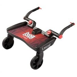 【淘氣寶寶】瑞典 Lascal Maxi 萊斯卡嬰兒手推車 輔助踏板 (加大型)(紅色)