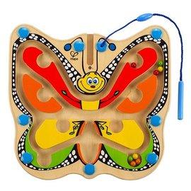 【淘氣寶寶】德國 Hape 愛傑卡 蝴蝶迷宮/兒童玩具/木製玩具