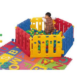 【淘氣寶寶】【CHING-CHING親親】兒童安全遊戲 圍欄/柵欄(6片裝) (PY-01) 不含小球與地墊【尺寸:156*78*56公分】
