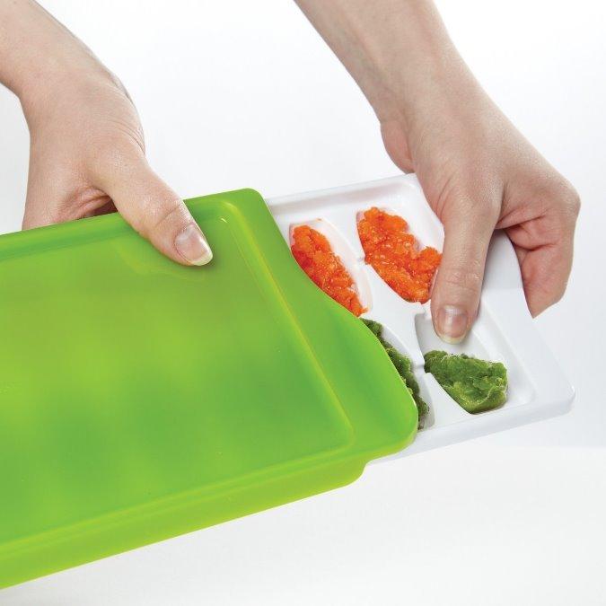 【淘氣寶寶】【美國oxo】優良評價超推薦!!! 食物冷藏盒/副食品冷存組合/冰磚 14格/22毫升