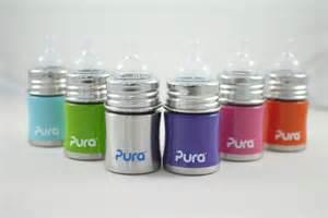 【淘氣寶寶】Pura Stainless Kiki 不鏽鋼奶瓶*寬口徑 5oz 不含雙酚A (0m~6m)【保證原廠公司貨】