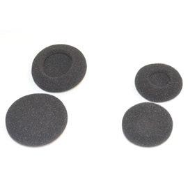 志達電子 中耳耳棉 4mm加厚 耳掛式 耳機 棉套 海棉套 耳棉 適用於 鐵三角 AKG JVC Philips SONY
