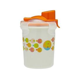 【悅兒樂婦幼用品?】美國Innobaby 不銹鋼防漏水杯8oz(250ml)-橘色小魚