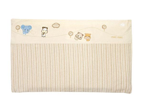 【悅兒樂婦幼用品?】nac nac 有機棉系列 3D透氣多用途平枕