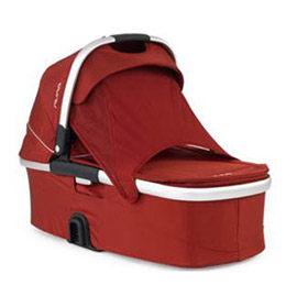 【悅兒樂婦幼用品?】Nuna IVVI 推車睡箱-紅色