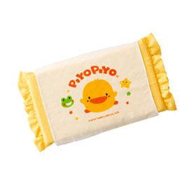 【悅兒樂婦幼用品?】Piyo 黃色小鴨 嬰兒天然乳膠枕