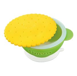 【悅兒樂婦幼用品?】Simba 小獅王 辛巴 曲奇雙層防燙吸盤碗(綠色)