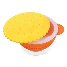 【悅兒樂婦幼用品?】Simba 小獅王 辛巴 曲奇雙層防燙吸盤碗(橘色)
