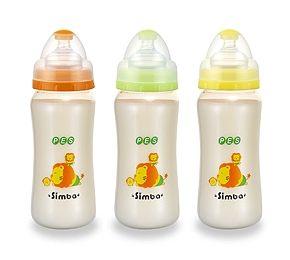 【悅兒樂婦幼用品?】小獅王 辛巴PES寬口大葫蘆奶瓶 (玩耍)360ml