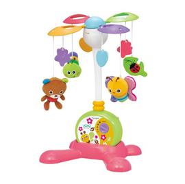 【悅兒樂婦幼用品?】Toy Royal 樂雅 兩用床邊音樂鈴