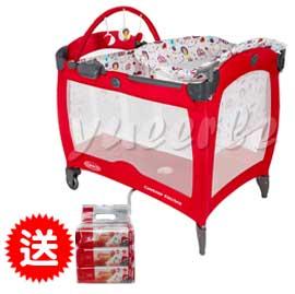 【悅兒樂婦幼用品?】GRACO Contour Electra 舒適嬰幼兒電動安撫遊戲床-遊樂園【買再送Aprica濕巾80抽3入(一串)】