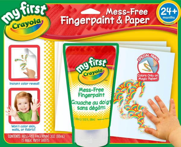 【悅兒樂婦幼用品?】繪兒樂Crayola 幼兒手指畫顏料套裝