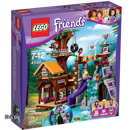樂高積木LEGO《 LT41122 》2016 年 Friends 姊妹淘系列 - 冒險營樹屋