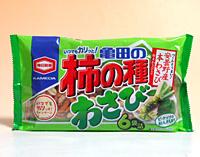 龜田6袋柿之種米果-芥末182g