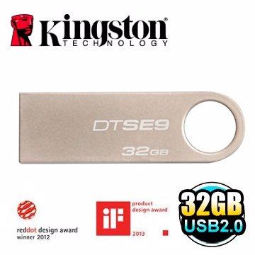 *╯新風尚潮流╭*金士頓 32G 32GB DataTraveler SE9 DTSE9H 2.0 隨身碟 DTSE9H/32GB
