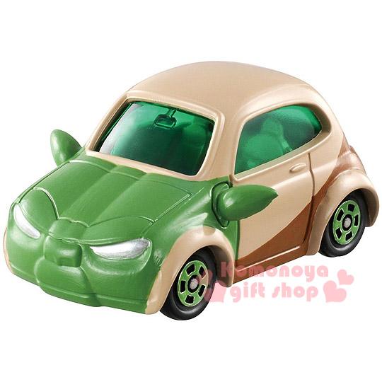 〔小禮堂〕星際大戰 尤達大師 TOMICA小汽車《綠.SC-05.黑盒裝》STAR WARS系列