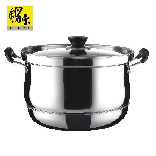 【威利家電】【分期0利率+免運】鍋寶 5L 不鏽鋼節能再煮鍋 CP-6050