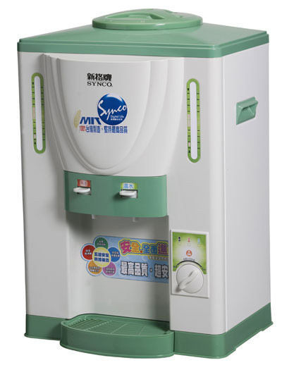 【威利家電】【刷卡分期零利率+免運費】新格 溫熱兩用開飲機 SWD-8019