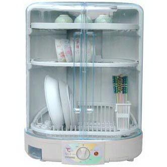 【威利家電】【刷卡分期零利率+免運費】伊娜卡 三層溫風直立烘碗機 (ST-7787)