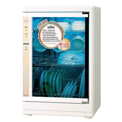 【威利家電】防蟑專利設計~聲寶四層紫外線烘碗機 KB-GH85U/KBGH85U