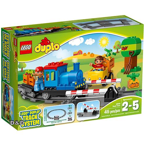 樂高積木LEGO《 LT10810 》Duplo 得寶幼兒系列 - 推拉式火車
