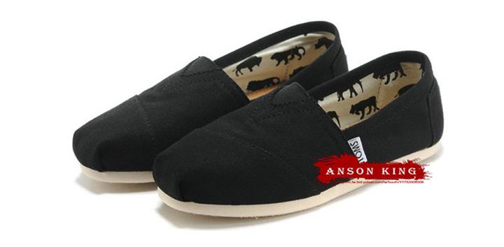 [男款] 國外代購TOMS 帆布鞋/懶人鞋/休閒鞋/至尊鞋 帆布系列 黑色