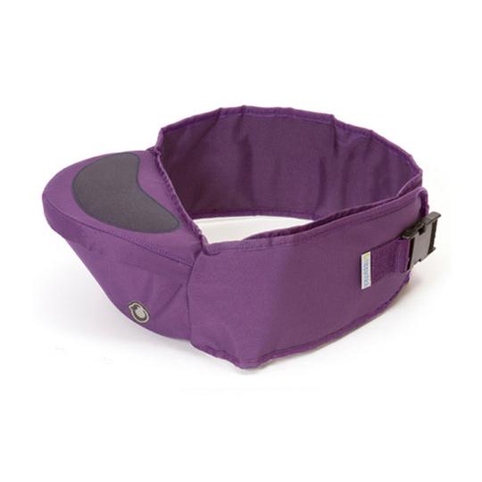 英國 Hippychick Hipseat 新款坐墊式抱嬰腰帶(有防滑軟座墊) 紫色*夏日微風*