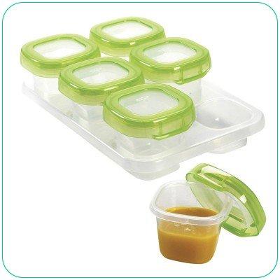 美國 OXO 嬰幼兒副食品保存保鮮盒 食物儲存格 60ml 6入/組 *夏日微風*
