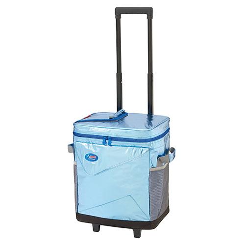 【露營趣】中和 Coleman XTREME拖輪保冷袋/40L CM-22214 行動冰箱 冰桶 保冰袋 野餐籃