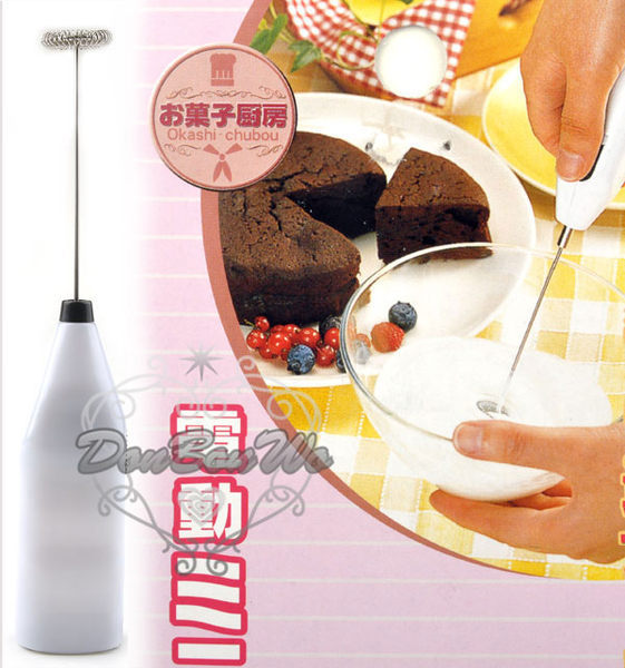 日本味道電動奶泡器銀281160海渡