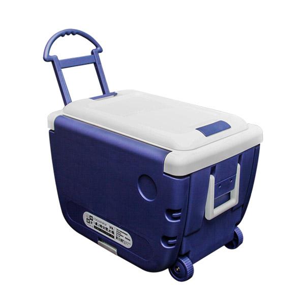 妙管家 1桌2椅休閒冰桶30L /拖輪式冷藏箱/攜帶式冰桶/冰箱/保冷