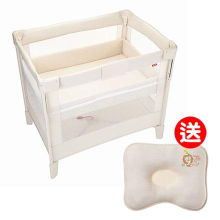 【悅兒樂婦幼用品?】Aprica 愛普力卡 嬰兒床 COCONEL Air 任意床-牛奶白【送辛巴 有機棉專利透氣枕】