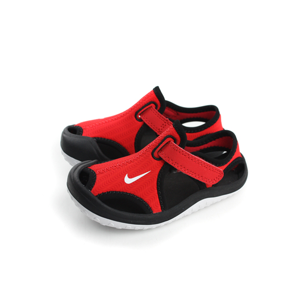 NIKE 涼鞋 童鞋 紅色 小童 no381