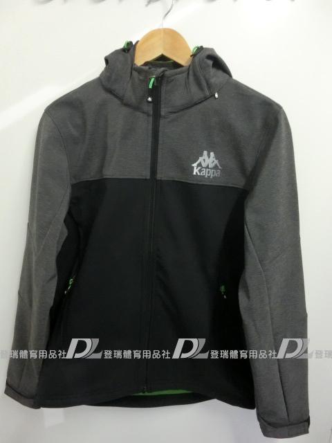 【登瑞體育】KAPPA 男生鯊魚風衣外套 - C66615158