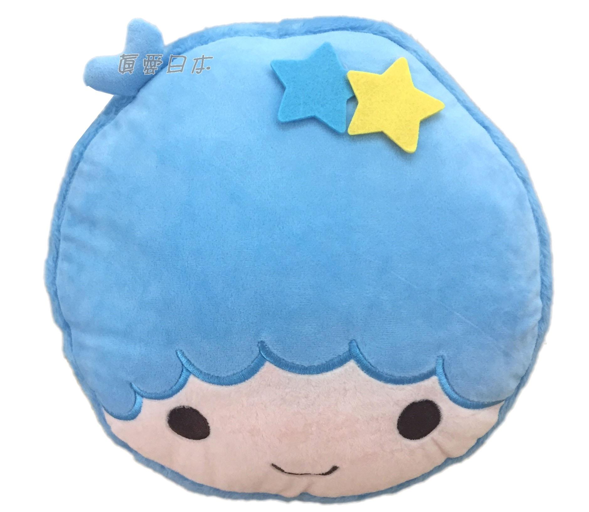 【真愛日本】16070600017 馬卡龍頭型抱枕-KIKI  三麗鷗家族 Kikilala 雙子星 娃娃 抱枕 靠枕