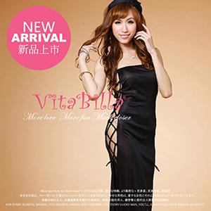 【伊莉婷】VitaBilla 熱情寶貝 睡裙+小褲 二件組 A008620622