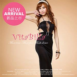 【伊莉婷】VitaBilla 深情寶貝 睡裙+小褲 二件組 A009620621